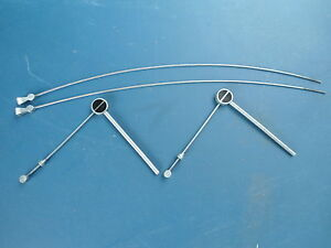 2 X CANTILEVER BRAKE LINK WIRES SIZE A + STRADDLE BRIDGE WIRES
