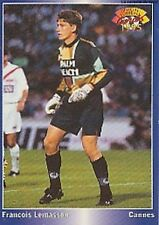 N°050 FRANCOIS LEMASSON AS.CANNES CARTE PANINI FOOTBALL 95 FRANCE CARDS 1995
