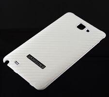 Samsung Galaxy Note i9220  N7000 Carbon Style Akkudeckel Schale Back Cover NEU