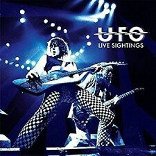 UFO - Live Sightings (2016) 4 CD's + 1 LP + Tour Books COMPLETE VG Schenker