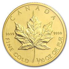 2008 Canada 1/10 oz Gold Maple Leaf BU - SKU #30758