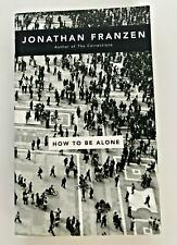 How to be Alone by Jonathan Franzen (Paperback, 2002)