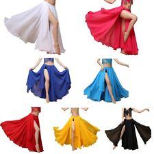 Women's Belly Dance Costume Chiffon Dancing Skirt Sexy Large Swing Dancing Dress