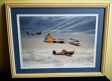 LIMITED EDITION SIGNED FRAMED PRINT THOMAS GOWER ALL UNDER ONE SKY 186/1500 VGC