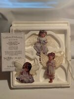 Heavens Little Angels Bradford Editions Ornament Collection FIRST SET