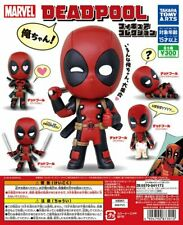 Takara Tomy Marvel DeadPool Orechan mini Figure Collection Completed Set 4pcs