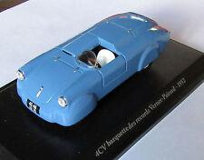 VP (Vernet-Pairard) Renault 4cv barquette des records 1952 - Eligor 1/43