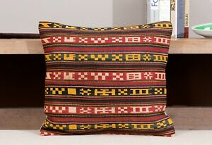 "15.75"" x 17.32"" Pillow Cover Kilim Pillow Cover OLD FAST Shipment With UPS 11721"