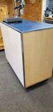 High Quality Rolling Counter on Casters Durable, Functional, Great Condition