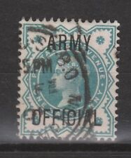 Great Britain Engeland OVERPRINT ARMY OFFICIAL nr 10 used Victoria