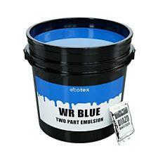 Ecotex Wr Blue Water Resistant Textile Diazo Screen Printing Emulsion Gallon