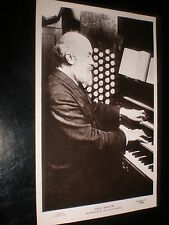 Old Postcard Sir George Clement Martin organist St paul's Cathedral c1900s