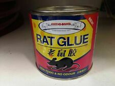 RAT GLUE TRAP MOUSE  MICE RODENT PEST  STICKY ODOURLESS NON TOXIC 220ml NEW