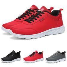 Men Leisure Sneakers Shoes Gym Outdoor Running Sports Breathable Fitness Flats D
