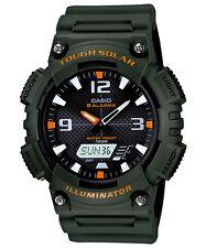 Casio New AQ-S810W-3A ANALOG DIGITAL Watch Tough Solar Illuminator Green AQ-S810