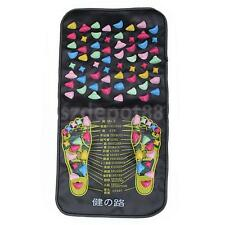 1pc Reflexology Walk Stone Foot Massage Mat Remove Muscle Fatigue Feet Massager