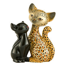 "Goebel Katze Katzenpaar ""Leopard Kitty in Love"" Kitty de Luxe Neu"
