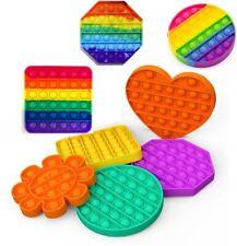 1x,2x Push Pop Fidget Kids Toy It Bubble Special Needs Silent Sensory Autism