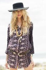 Spell Designs Gypsiana Shirt Dress Pepper- Small