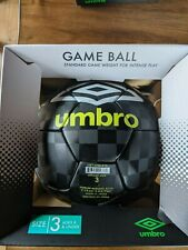 Umbro Size 3 Soccer Ball Standard Game Weight Lime Green / Black