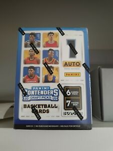 2020-21 Panini Contenders Draft Picks Basketball FACTORY SEALED BLASTER BOX auto