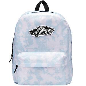 Vans Unisex Realm Classic Adjustable Backpack Rucksack Bag - Oxide Wash