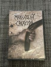 """MALEVOLENT CREATION """"DEATH FROM DOWN UNDER"""" (DVD) BRAND NEW AND SEALED! DEICIDE"""