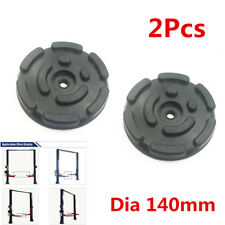 Heavy Duty 2PCS Post Lifting Round Rubber Pads Car Lift Accessories Arm Pads Kit