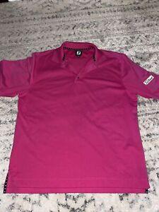 Footjoy golf shirt sz large