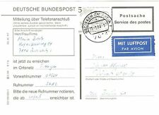 Briefmarken aus Berlin (1960-1969) mit Post- & Kommunikations-Motiv