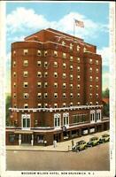 Woodrow Wilson Hotel ~ New Brunswick NJ New Jersey ~ 1920s