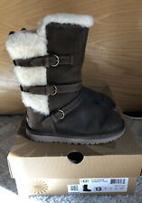 UGG Kids Toddlers Girls Boys Size 13 Glasgow Boot TOAS Toast Brown