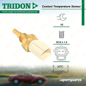 Tridon Coolant Sensor for Toyota Kluger Landcruiser VDJ UZJ200 Prado GRJ Previa