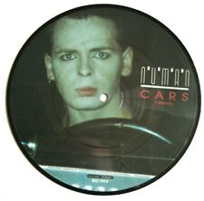 "NM! Gary Numan Tubeway Army Cars / Are Friends Electric? 7"" VINYL PICTURE DISC"