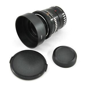 Carl Zeiss Jena Pancolar 50mm F1.8 Cine Mod Lens w/ Anamorphic Bokeh & Flare!
