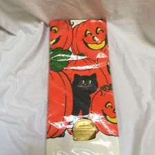 Vintage Hallmark Halloween Paper Tablecloth New In Package Collectible 60x102