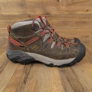 KEEN Targhee II Waterproof Womens Ankle Brown Hiking Boots Size 7.5