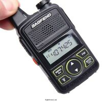 UK Baofeng MINI T1 VHF120-174 Mhz- UHF200-520Mhz -Radio + optional case, battery