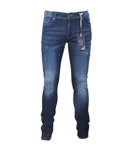 Jeans Uomo GAUDì 921BU26008L34 Denim Modello Super Skinny Misura W33 ITA47
