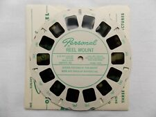 View Master  1950s  Rare  Custom Reel  Stephen Foster  Museum