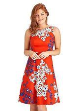 Joe Browns Va Va Voom Dress Size UK 16 Red DH076 NN 09