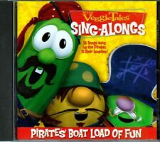 VEGGIE TALES Pirates Boat Load of Fun CD Great Christian DEEP WIDE WE'RE VIKINGS