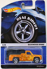 Hot Wheels Real Riders! 9/18 Backwoods Bomb! New! American Hot Rod Camper