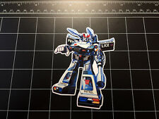 Transformers G1 Prowl box art vinyl decal sticker Autobot toy 1980's 80s