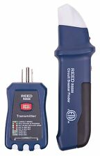 Reed Instruments R5500 3-in-1 Circuit Breaker Finder, Receptacle & GFCI Tester