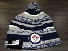 Winnipeg Jets Cap Hat NHL Hockey New Era Beanie Toque OSFM NE Sport Pom
