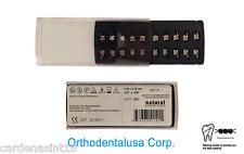 ORTHODONTIC BRACKET ROTH.022 SYSTEM MESH BASE W/HOOK 3,4,5 /20 PCS/N281-A/ODUSA