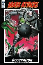 MARS ATTACKS OCCUPATION #4 Subscription Variant IDW NM Comic - Vault 35