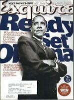 Esquire Magazine Barack Obama Gore Vidal Fashion Radha Mitchell June 2008 6/08