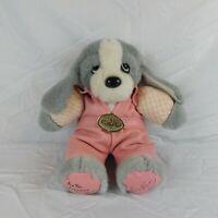 "Vintage Elvis Presley Plush Are You Lonesome Tonight 15"" TCB Stuffed Animal Dog"